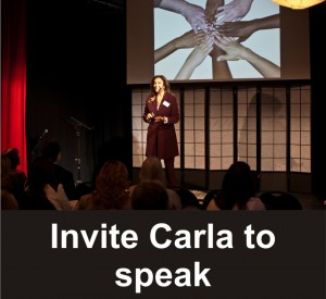 Invite Carla Rieger to Speak At Your Next Event